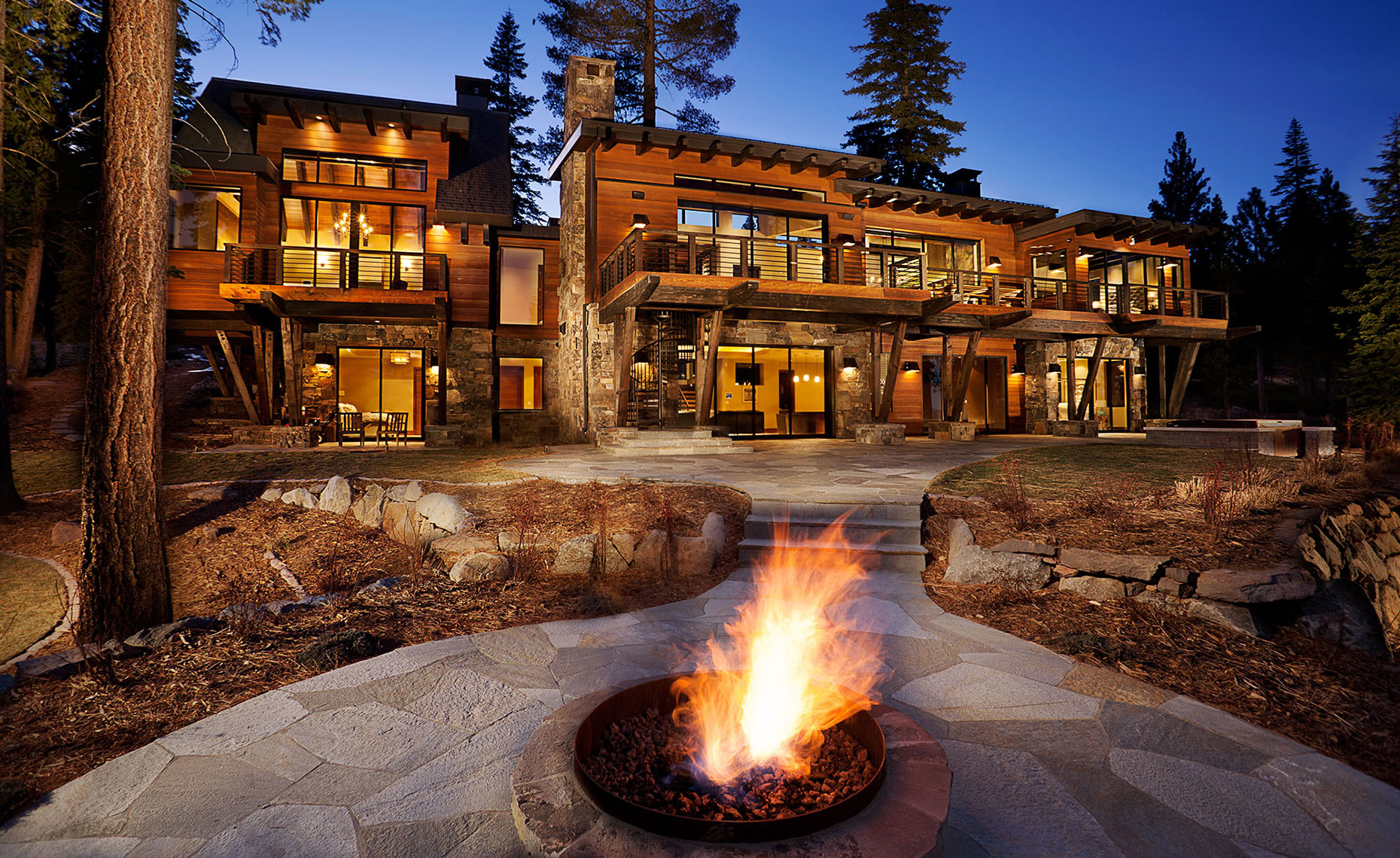 Martis Camp Truckee Ca Raftery Residence, Northstar at Tahoe Ski and Golf Community