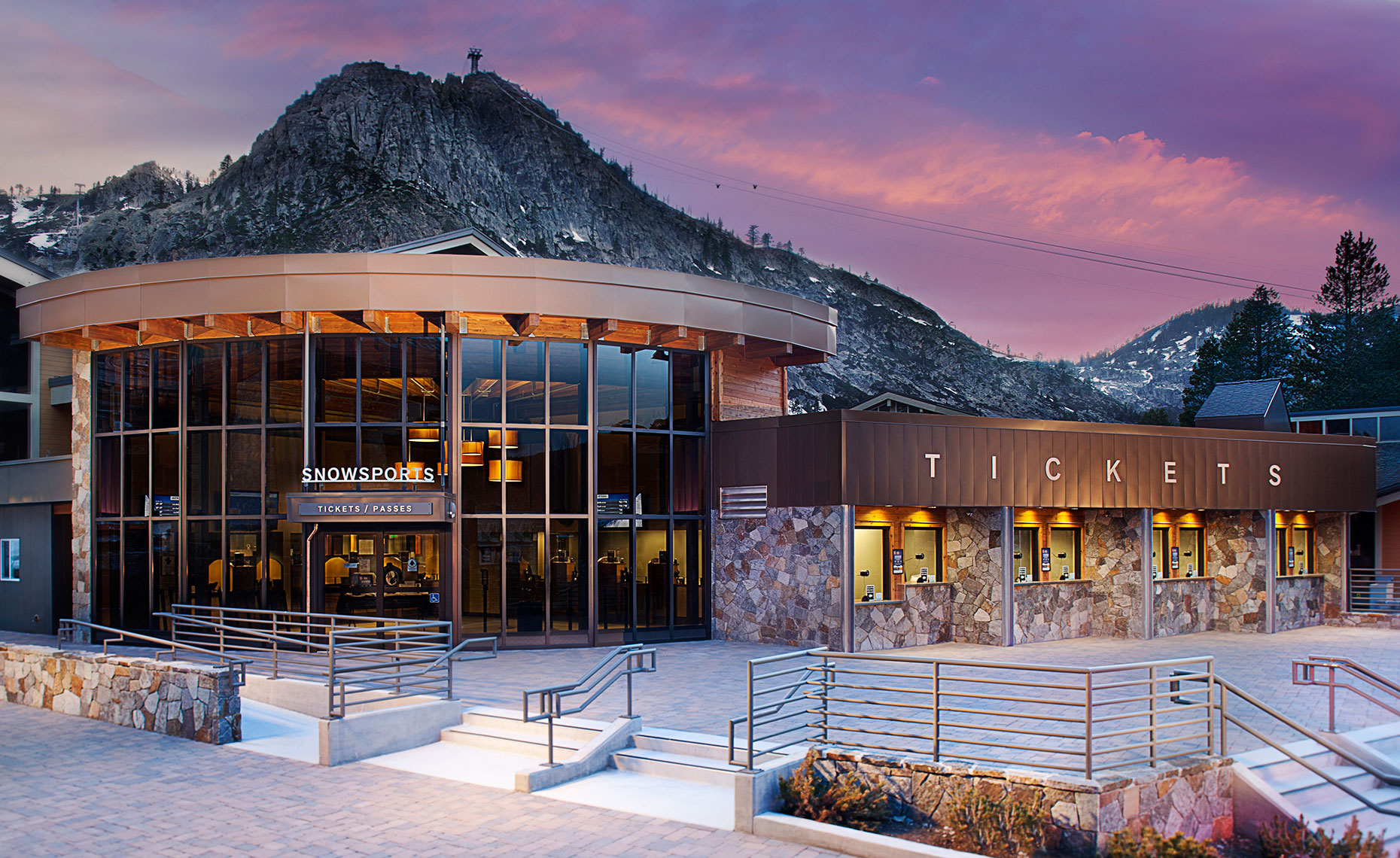 Squaw Valley Ticket Exterior