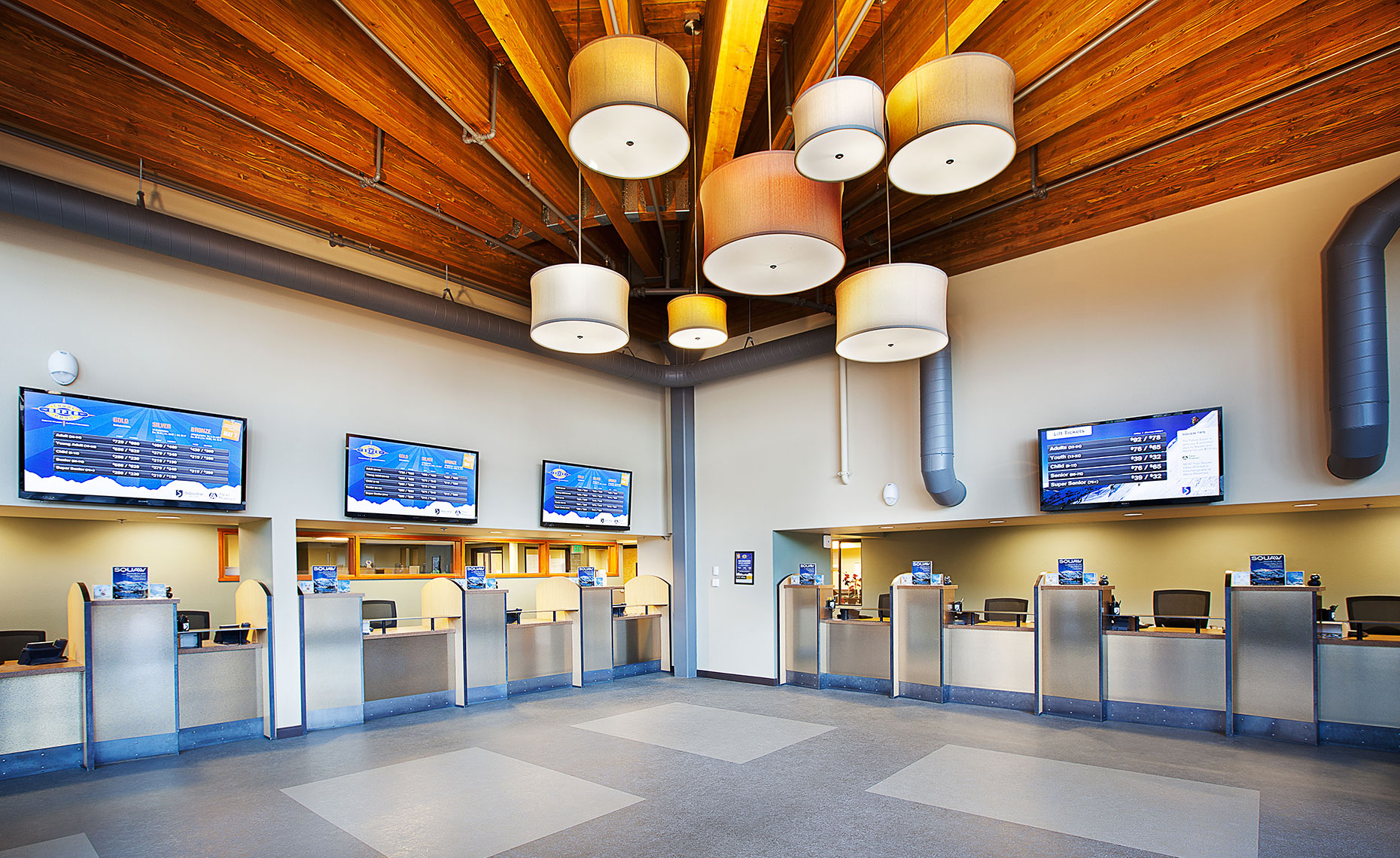 Squaw Valley Tickets Interior
